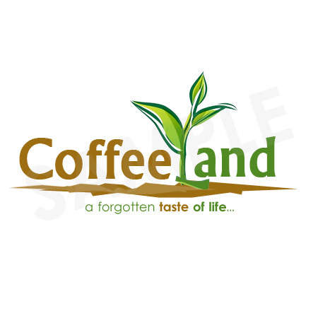 Custom Logo Design Company USA | Graphic Design Agency NYC for coffee land
