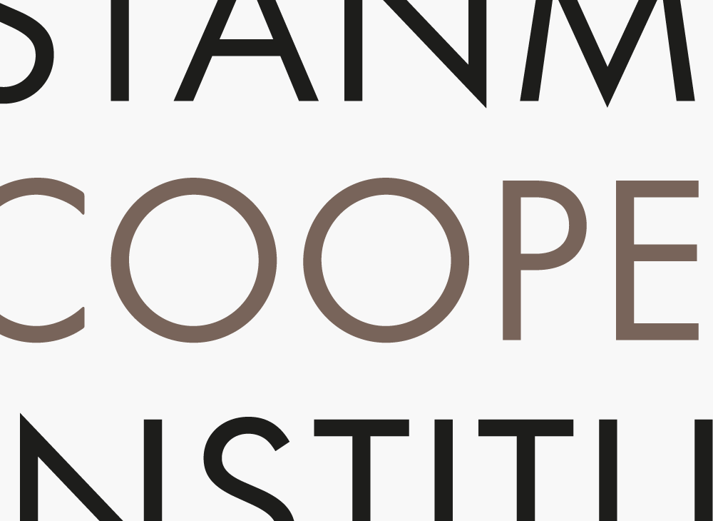 Product Branding for Visual identity for Stanmore Cooper Institute.