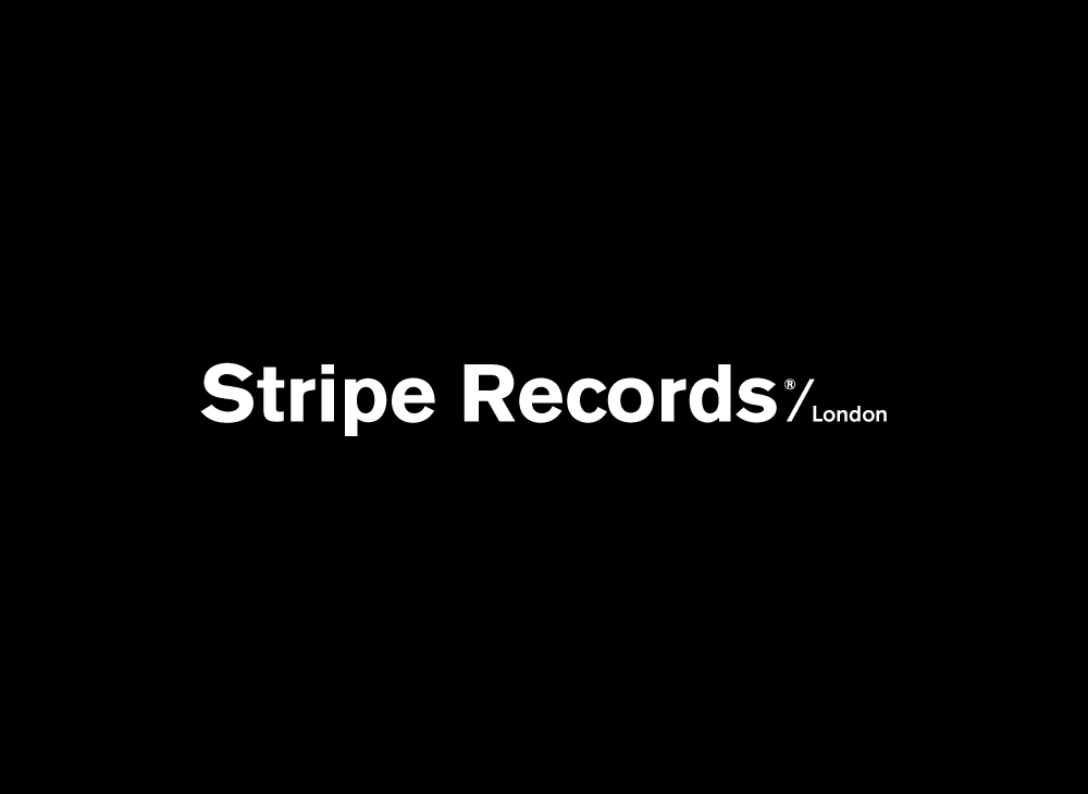 Product Branding for Visual identity for Stripe Records, London based music label.