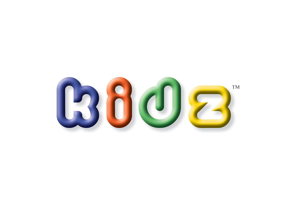 Branding Identity for Visual identity for Kidz, manufacturer of play materials.