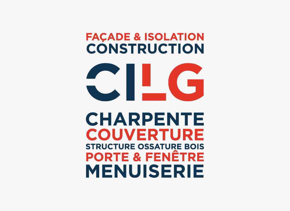 Branding Identity for Visual graphic elements for CILG Construction.