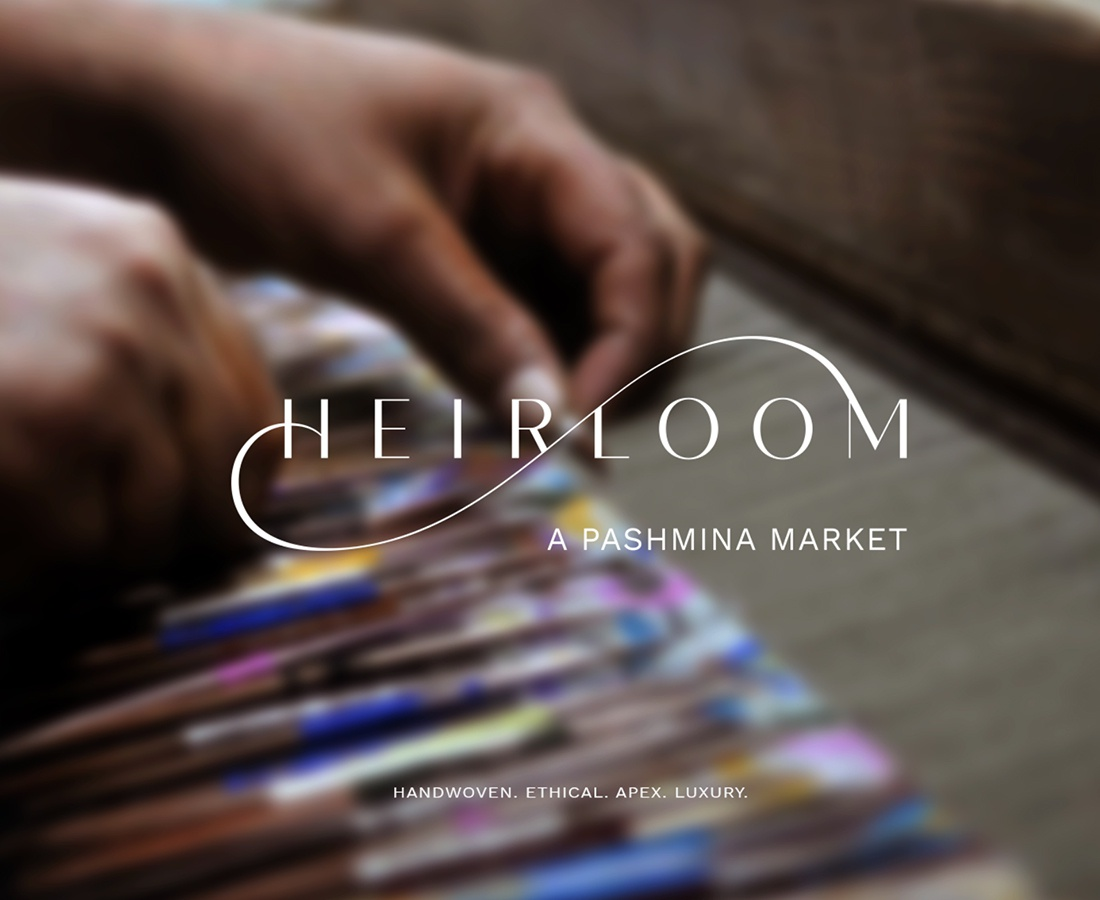 Web development for Heirloom Pashmina